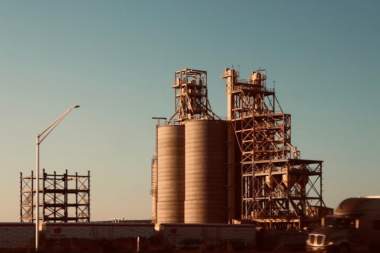 Cement manufacturing emits pollutants at every stage of production