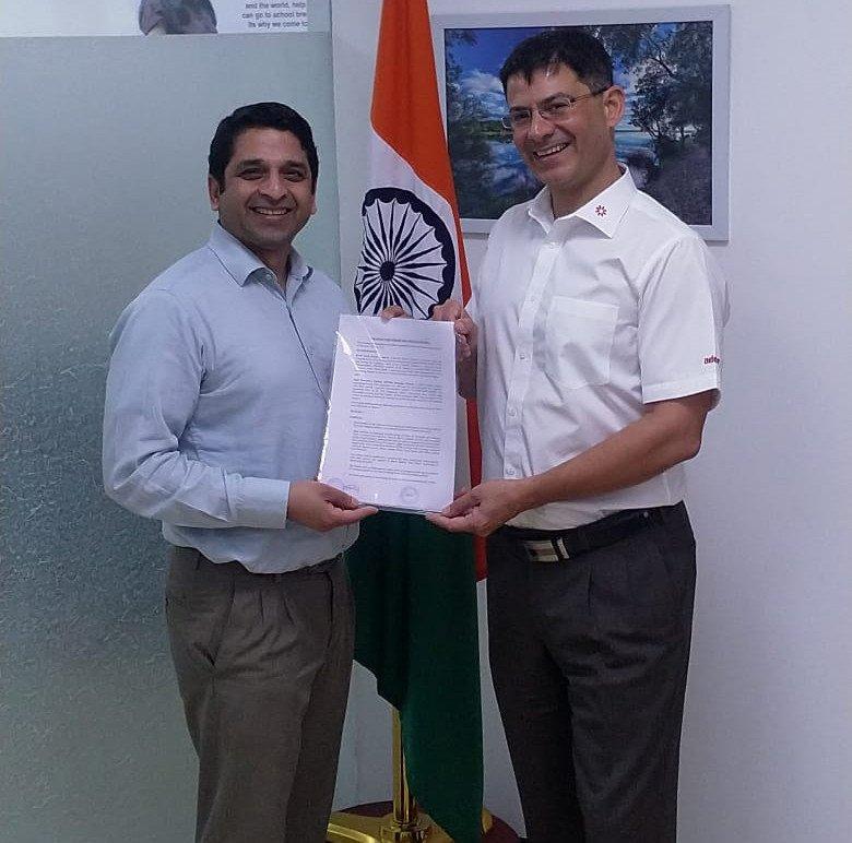 Dr Srikanth Sola and Ravin Mirchandani