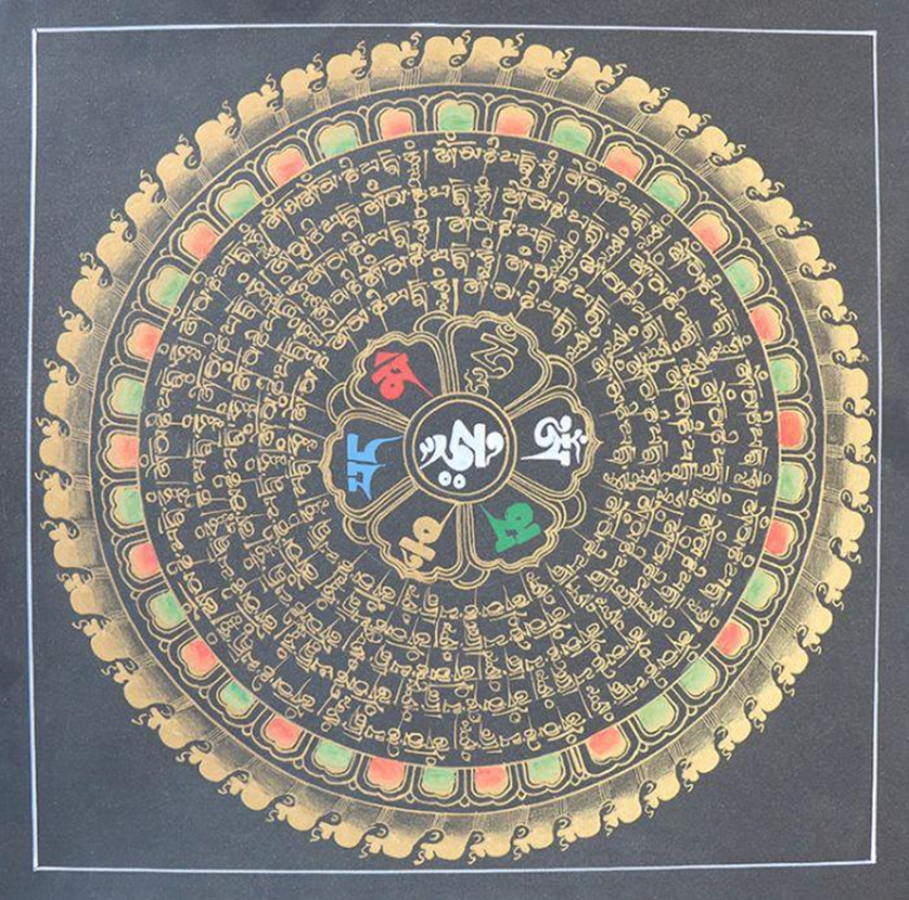The Mandala of Compassion. Image Courtesy: gnhcorner.com